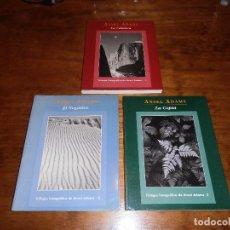 Libros de segunda mano: TRILOGIA FOTOGRAFICA DE ANSEL ADAMS. . Lote 114357659