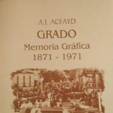 Libros de segunda mano: GRADO MEMORIA GRÁFICA 1871-1971 (TOMO I). Lote 114390302