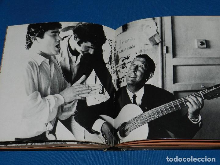 Libros de segunda mano: (MF) LUCES Y SOMBRAS DEL FLAMENCO, FOTOGRAFÍAS DE COLITA, LUMEN ED. 1975. 21X23 CM - Foto 7 - 115217927