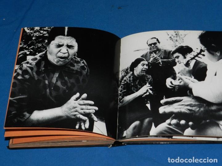 Libros de segunda mano: (MF) LUCES Y SOMBRAS DEL FLAMENCO, FOTOGRAFÍAS DE COLITA, LUMEN ED. 1975. 21X23 CM - Foto 8 - 115217927