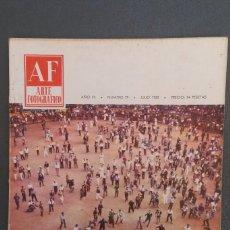 Libros de segunda mano: A544.- AF / ARTE FOTOGRAFICO.- AÑO VII - NUMERO 79 - JULIO 1958. Lote 115393347