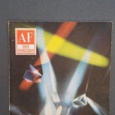 Libros de segunda mano: A549.- AF / ARTE FOTOGRAFICO.- AÑO VII - NUMERO 75 - MARZO 1958. Lote 115394047