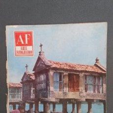 Libros de segunda mano: A554.- AF / ARTE FOTOGRAFICO.- AÑO VIII - NUMERO 92 - AGOSTO 1959. Lote 115394527