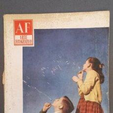 Libros de segunda mano: A545.- AF / ARTE FOTOGRAFICO.- AÑO VII - NUMERO 81 - SEPTIEMBRE 1958. Lote 115395875