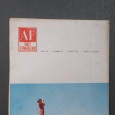 Libros de segunda mano: A556.- AF / ARTE FOTOGRAFICO.- AÑO VIII - NUMERO 89 - MAYO 1959. Lote 115488495