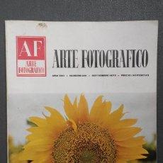 Libros de segunda mano: A567.- AF / ARTE FOTOGRAFICO.- AÑO XXII - NUMERO 261 - SEPTIEMBRE 1973. Lote 115498755