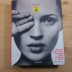 Libros de segunda mano: SMILE I-D: FASHION AND STYLE : THE BEST FROM 20 YEARS OF I-D BY TERRY JONES TASCHEN. Lote 115596975