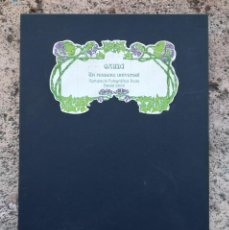 Libros de segunda mano - Gaudi un reusenc universal carpeta con fotografias originales Fotógrafos Reus - 116169619
