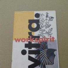 Libros de segunda mano: REVISTA VITRA WORKSPIRIT MAGAZINE FOTO PEDRO ALMODOVAR GRAN FORMATO SILLAS CHAIR DISEÑO DESIGN. Lote 116763851
