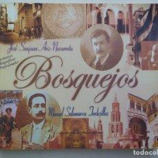 Libros de segunda mano: BOSQUEJOS . APUNTES BIOGRAFICOS DE FOTOGRAFOS DE ECIJA MANUEL SALAMANCA Y JOSE SANJUAN. . Lote 118279755