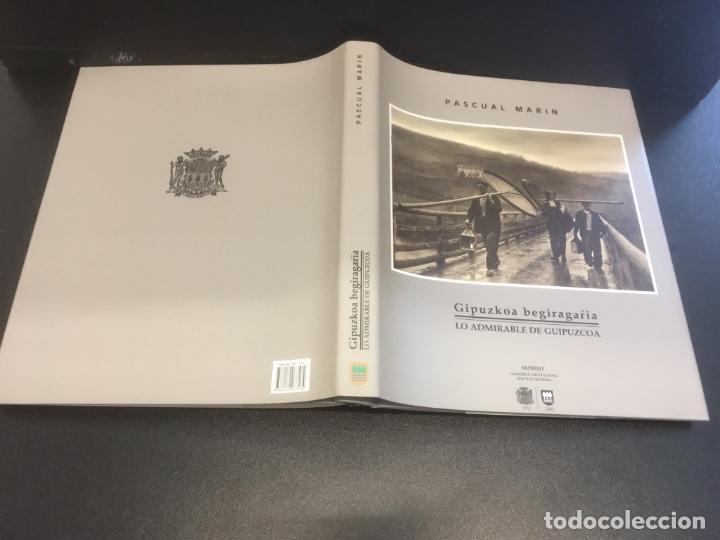 Libros de segunda mano: Gipuzkoa begiragarria. Lo admirable de Guipuzcoa. Pascual Marin. ( Facsímil ) - Foto 7 - 190369586