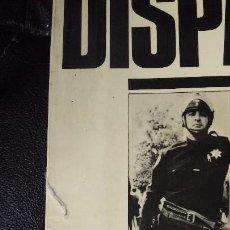 Libros de segunda mano: DISPAROS FOTOGRAFIAS DEL UNDERGROUND PRESS. Lote 119676515