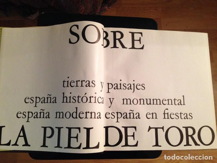 LA PIEL DE TORO - EDICIONES AYMA 1ª EDICIÓN 1965 (Libros de Segunda Mano - Bellas artes, ocio y coleccionismo - Diseño y Fotografía)