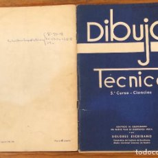 Libros de segunda mano: DIBUJO TÉCNICO(17€). Lote 120366499