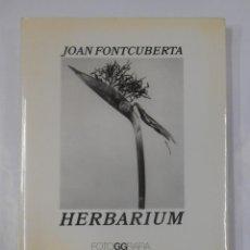 Libros de segunda mano: JOAN FONTCUBERTA: HERBARIUM. FOTOGGRAFIA. TDK90. Lote 120501855