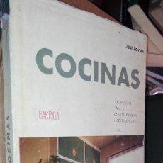 Libros de segunda mano: COCINAS JOSÉ ROVIRA SUGERENCIAS PARA SU CONSTRUCCION O MODERNIZACION GARRIGA AÑO 1963. Lote 121356099