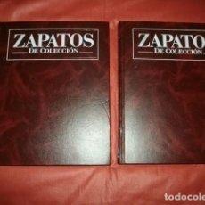 Libros de segunda mano: ZAPATOS DE COLECCION, DE PLANETA DEAGOSTINI (40 FASCICULOS EN 2 TOMOS). CALZADO, MODA. MUY ILUSTRADO. Lote 121537695