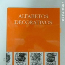 Libros de segunda mano: ALFABETOS DECORATIVOS ROSELL MIRALLES, EUGENIA GUSTAVO GILI 1996 93PP. Lote 122124283