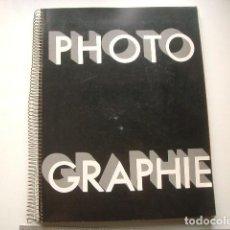 Libros de segunda mano: EDICIÓN FACSÍMIL PHOTOGRAPHIE. NUMÉRO SPÉCIAL CONSACRÉ À LA PHOTOGRAPHIE. N° 16. QUINZE MARS 1930.. Lote 122238079