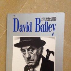 Libros de segunda mano: LOS GRANDES FOTÓGRAFOS. DAVID BAILEY (EDICIONES ORBIS). Lote 124412894