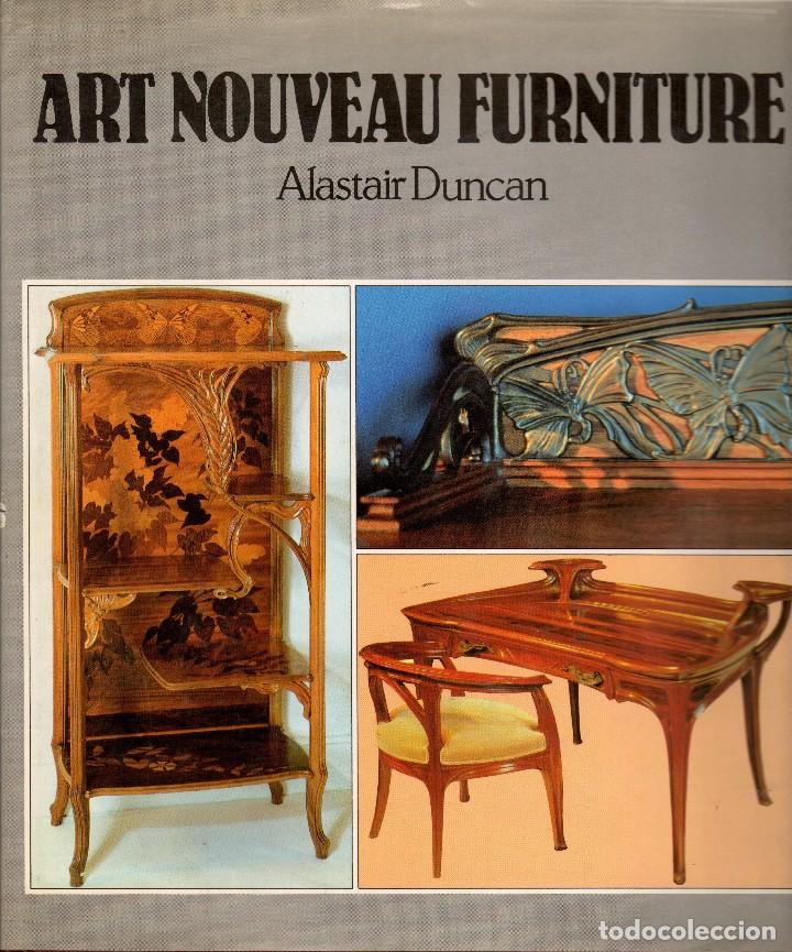 Art Nouveau Furniture Alastair Duncan Mobili Kaufen Bucher Uber