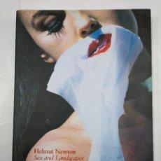 Libros de segunda mano: SEX AND LANDSCAPES. HELMUT NEWTON. TASCHEN. TDK338. Lote 125022179