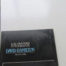 Libros de segunda mano: LOS GRANDES FOTOGRAFOS 1. DAVID HAMILTON A.A.V.V. EDITORIAL: ORBIS, BARCELONA (1983) CS134. Lote 127213795