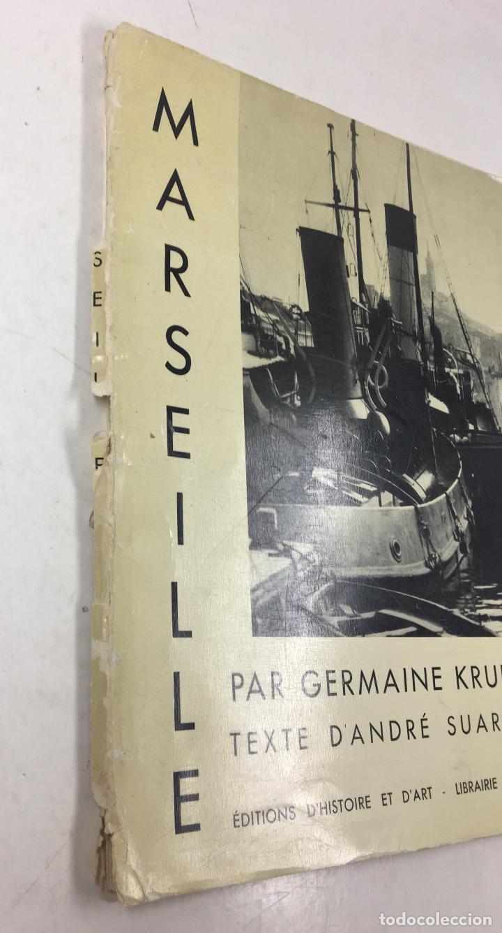 Libros de segunda mano: MARSEILLE PAR GERMAINE KRULL - ANDRÉ SUARÈS, LIBRAIRE PLON, 1935. - Foto 6 - 127735495