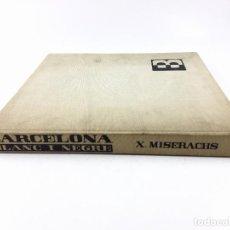 Libros de segunda mano: BLANC I NEGRE, XAVIER MISERACHS. AYMÀ ED. 1964. 31X33 CM.. Lote 127870731