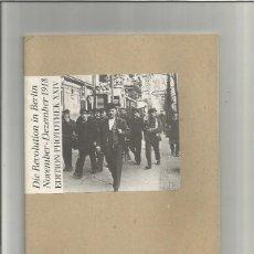 Libros de segunda mano: HAECKEL REVOLUCION BERLIN 1918. Lote 128075583