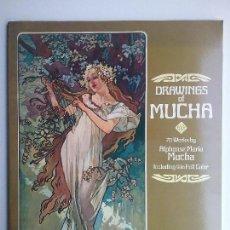 Libros de segunda mano: ALPHONSE MARÍA MUCHA ART NOVEAU DISEÑO DIBUJO OBRAS 1978. Lote 128315603