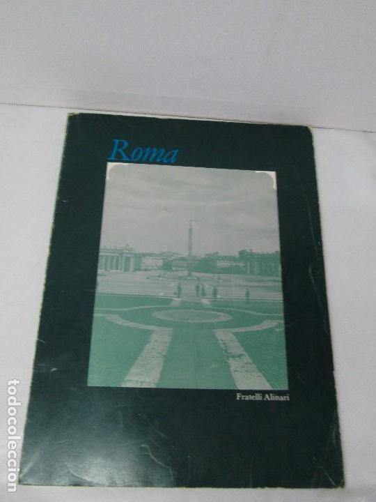 Libros de segunda mano: ROMA. FRATELLI ALINARI. FOTOGRAFIE DELL´OTTOCENTO . EDIZIONI ALINARI 1981.VER FOTOGRAFIAS - Foto 2 - 128592351