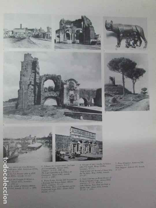 Libros de segunda mano: ROMA. FRATELLI ALINARI. FOTOGRAFIE DELL´OTTOCENTO . EDIZIONI ALINARI 1981.VER FOTOGRAFIAS - Foto 8 - 128592351