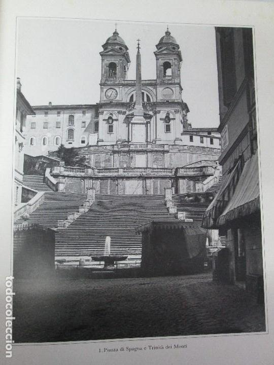 Libros de segunda mano: ROMA. FRATELLI ALINARI. FOTOGRAFIE DELL´OTTOCENTO . EDIZIONI ALINARI 1981.VER FOTOGRAFIAS - Foto 9 - 128592351
