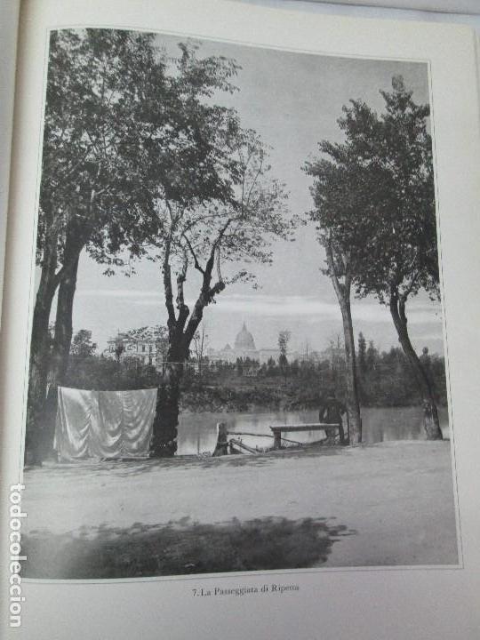 Libros de segunda mano: ROMA. FRATELLI ALINARI. FOTOGRAFIE DELL´OTTOCENTO . EDIZIONI ALINARI 1981.VER FOTOGRAFIAS - Foto 13 - 128592351