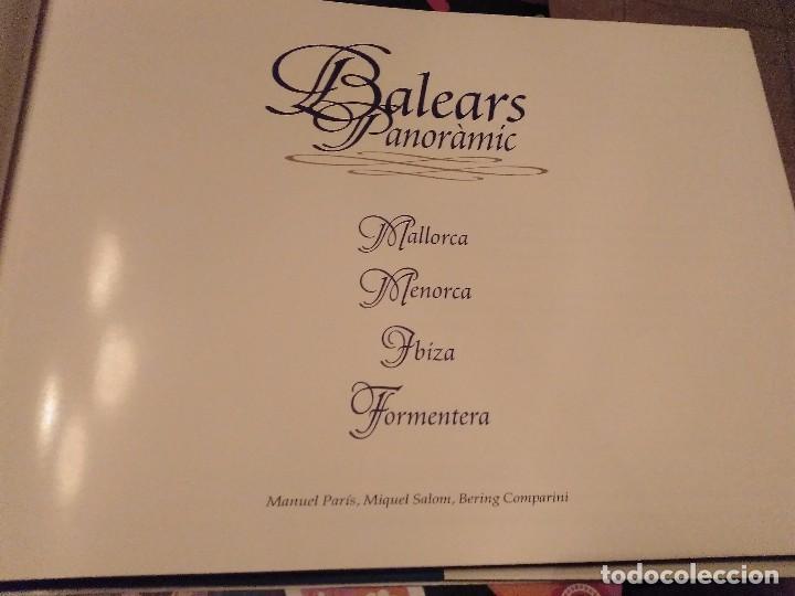Libros de segunda mano: ESPECTACULAR Y PRECIOS TOM BALEARS PANORAMIC MALLORCA MENORCA IBIZA FORMENTERA ANY 1999 - Foto 4 - 129743943