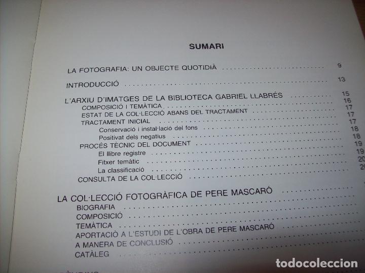 Libros de segunda mano: LA COL·LECCIÓ DE PERE MASCARÓ. BIBLIOTECA GABRIEL LLABRÉS. 1ª EDICIÓ 1991. MALLORCA. - Foto 4 - 130546278