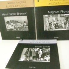 Libros de segunda mano: MAGNUM - GRANDES FOTÓGRAFOS. Lote 130887708