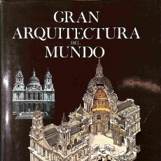 Libros de segunda mano: GRAN ARQUITECTURA DEL MUNDO - JOHN JULIUS NORWICH - HERMANN BLUME EDICIONES. Lote 106234416