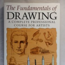 Libros de segunda mano: THE FUNDAMENTALS OF DRAWING. BARRINGTON BARBER. CURSO DE DIBUJO PROFESIONAL. TEXTO EN INGLÉS. Lote 132002606