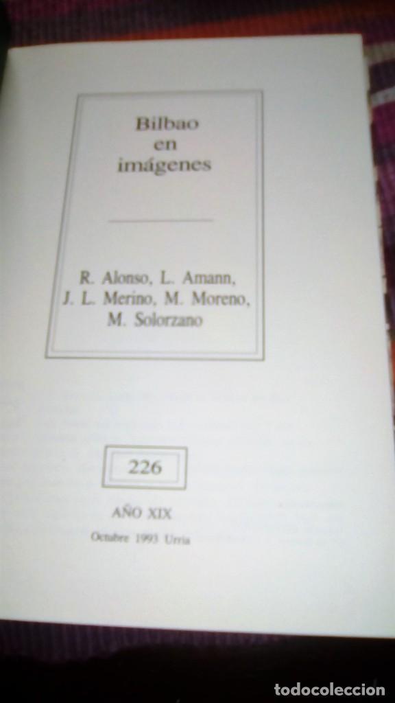 Libros de segunda mano: BILBAO EN IMÁGENES VVAA TEMAS VIZCAÍNOS ILUSTRADO - Foto 2 - 133001654