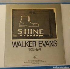 Libros de segunda mano: WALKER EVANS 1928-1974. Lote 133582322