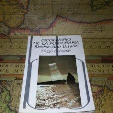 Libros de segunda mano: DICCIONARIO DE LA FOTOGRAFIA - TÉCNICA / ARTE / DISEÑO - HUGO SCHÖTTLE - 1ª EDICION- ED. BLUME 1982. Lote 134272102