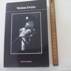 Libros de segunda mano: WALKER EVANS.. PHOTO POCHE. 1990. 63 FOTOGRAFÍAS. . Lote 134340778