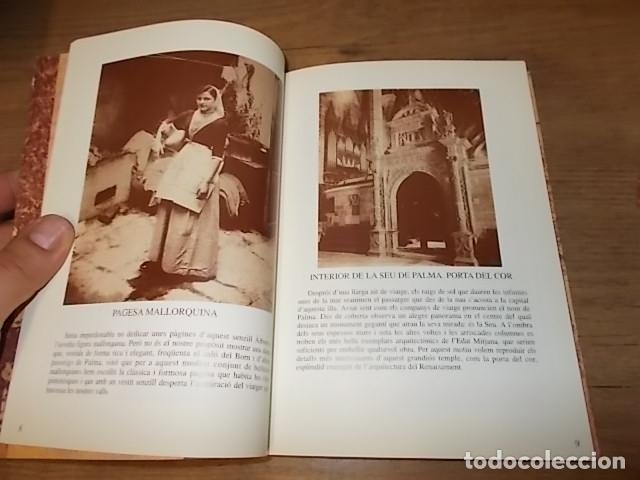Libros de segunda mano: ALBUM DE MALLORCA. PRESENTACIÓ PEDRO MONTANER. LA FORADADA. JOSÉ J. DE OLAÑETA. 1ª EDICIÓ 1997. - Foto 6 - 134396538