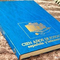 Libros de segunda mano: CIEN AÑOS DE FOTOGRAFÍA ESPAÑOLA Y LATINOAMERICANA. ED. URBION-EL VISO.. Lote 136043890