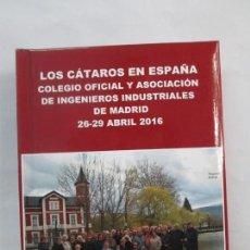 Libros de segunda mano: LOS CATAROS EN ESPAÑA. ALBUM. COLEGIO OFICIAL Y ASOCIACION DE INGENIEROS INDUSTRIALES DE MADRID. Lote 136460182