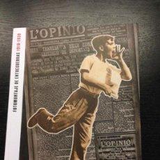 Libros de segunda mano: FOTOMONTAJE DE ENTREGUERRAS (1918-1939), CATALOGO DE EXPOSICION, 2012. Lote 137118414