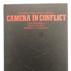 Libros de segunda mano: CAMERA IN CONFLICT. CIVIL DISTURBANCE. 1996. Lote 137236426