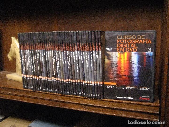 CURSO DE FOTOGRAFIA DIGITAL EN DVD 40 DE AGOSTINI (Libros de Segunda Mano - Bellas artes, ocio y coleccionismo - Diseño y Fotografía)